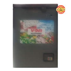 HCFH120SS/VAFC12DUS Showcase Freezer, 100L - Grey white 100l