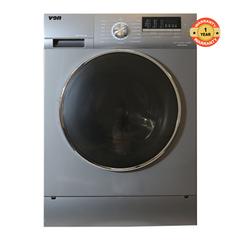 Von HWF-916SI/VALW-09FXK Washing Machine, Front Load, 9KG, Inverter silver 9kg