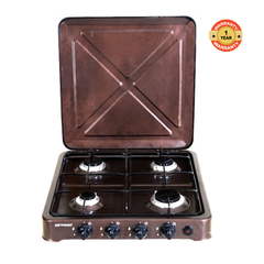 O-440.C/VAC4F4OOC Gas Burner Table Top Cooker - Brown
