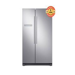 Samsung RS54N3A13S8 Side by Side Fridge, 540L silver 540 litres