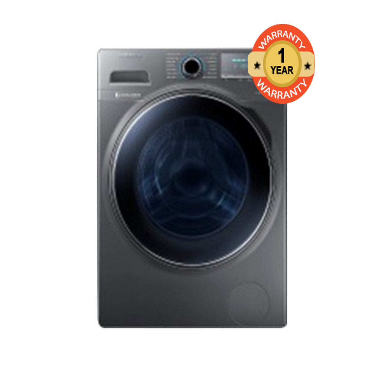 279f14a89813a2 Samsung Washer Dryer WD70J5410AS NQ Front Load 7 5KG Silver 7 5 Kg ...