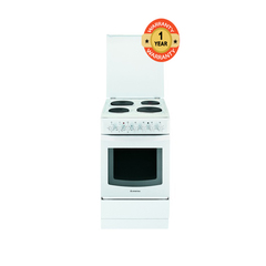Ariston C30 N1/A5ESH2E4 Plate Electric Cooker - white