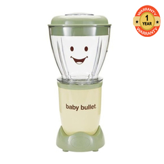 Baby Bullet BBR - 2212M 22 Piece Set Green & Cream