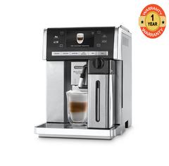 Delonghi Esam6900 Coffee Bean To Cup Primadonna Exclusive metalic 14 cups