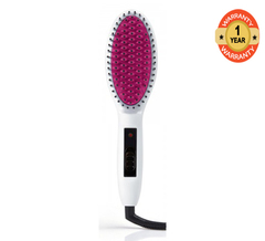 Instyler ISHBL-00WTME Straight Up Hair Brush white 330°F to 450°F