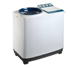 Von VALW-10MLB Twin Tub Washing Machine - White - 10Kg White One Size