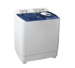 Von VALW-07MLB Twin Tub Washing Machine - White - 7Kg white 7KG