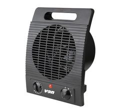 Von VSHK20FK Fan Heater - Black Black one size