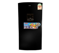 Von VARS-25DKK Single Door Fridge 180L - Black Black one size