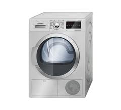 Bosch WTG86400ZA Dryer 9KG - Free 750g Ariel Detergent & 300ml Downy Softener silver 9kg
