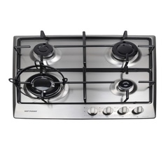 Hotpoint H6404VGRM/VBHS6401X Built in Hob 4 Gas - Stainless steel