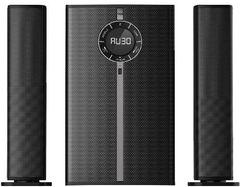 VON SUBWOOFER 2.1CH - 160W RMS, BLUETOOTH, USB Black 160W VES1602FS