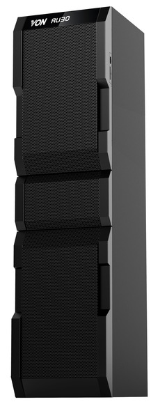 Von VEA2001FT Active Speakers, 1.0CH, Bluetooth, 200W RMS, LED Lighting Black 200W RMS VEA2001FT