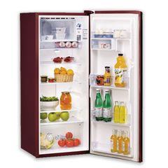 WHIRLPOOL Refrigerator REF 1DR WMD-205WN 165L WINE RED Fridge Wine Red 165l