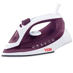 Von Hotpoint HSI2144SV/VSIS14MSV Steam Iron - 2200W Iron Box violet