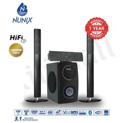 (Hot Sales!)Nunix  M7 3.1ch  Home Theater System  Speakers Woofer Black 12000w M7