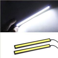10pcs  Bright White Car COB LED Light DRL Fog Driving Lamp Waterproof DC 12V