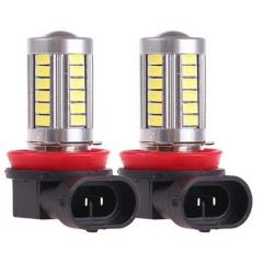 2X H8 5630 33SMD White High Power LED Light Bulbs Car Fog Driving Light