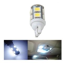50X 9SMDC 12V Led 10 5050 Auto Car Side Wedge Tail Light/Turn Signal Lamp Bulb