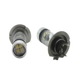 2X H7 Led Bulb 100W Car Fog lamp/Fog Light White