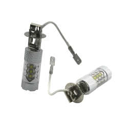 2X 12V H3 80W High Pwer Super Bright LED Bulb Car Fog Light/ Fog Lamp