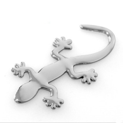 Fashion Car 3D Gecko Metal Emblem Badge Car Truck Auto Motor Sticker Decals Car Styling