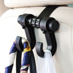 Car Interior Accessories Portable Auto Seat Hanger Purse Bag Organizer Holder Hook Headrest