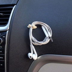25*15mm Car Various Cables Fixed Clips Holder Clamp Charging Line Clip Car Interior Accessories