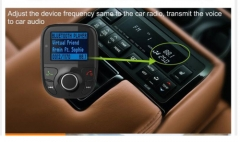 Universal Wireless Car MP3 Audio Player Bluetooth Handsfree FM Transmitter With SD/USB Port Car Kit