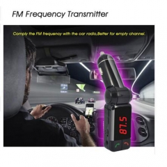 Bluetooth Wireless Hands-free Car Kit Mp3 Player FM Transmitter Modulator Support Usb Stick