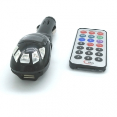 Wireless Car MP3 Player Auto FM Transmitter Kit Support SD/MMC Card /MP3/USB/Audio Devices