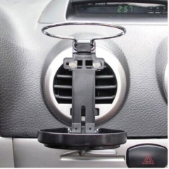 Car Air Vent Mount Drink Rack Mount Auto Bracket Car Mount Kit Folding Cup Holder Stand