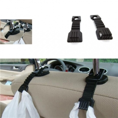 Universal Car Fastener Clip Hook Black Car Seat Pothook