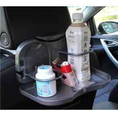 Foldable Car Holders Car Back Seat Drinks Food Cup Tray