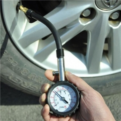 High Precision Stainless Steel Car Tire Pressure Gauge Digital Tire Pressure Table Barometers Tools