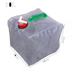 10L Ultra-light Folding Car Portable Collapsible Water Storage Bag Transparent Bucket Fishing Barrel