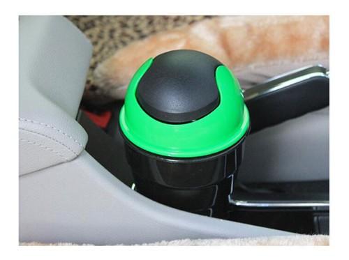 Mini Car Trash Bin Automatic Vehicle Garbage Dust Holder