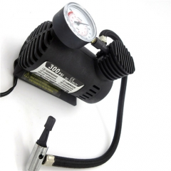 Car Mini Pumps 12V 300PSI Electric Air Compressor Tire Inflator Auto Inflatable Pump with Barometer