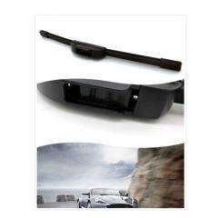 "One Pair of 14""  Auto Natural Soft Rubber Car Rain Wiper Windshield Wiper Blade Car Accessories"