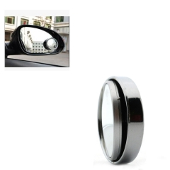 360° Adjustment Wide Angle Convex Mirror Car Rear Side View Blind Spot Mirror Small Round Mirror