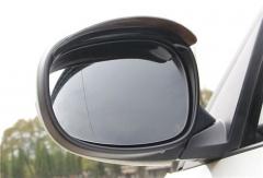 2pcs/pair Universal Rain Shield Flexible Peucine Car Rear Mirror Guard Rearview Mirror Rain Shade