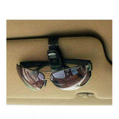 Portable Car Card Holder Clips Auto Vehicle Visor Sunglass Eye Glasses Holderaments Car Glasses Clip
