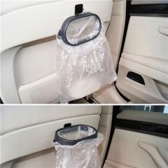 Car Plastic Trash Bag Rack Garbage Bag Holder Trash Bag Frame Vehicle Frame Hanger Car Styling