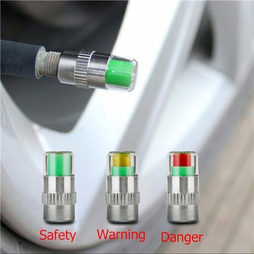 Tire Pressure Warning Valve Cap Car Tire Pressure Gauge Air Pressure Gauge