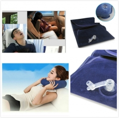 Car Travel Neck Protection Pillow Foldable/Inflatable Headrest U-Shape Comfort Headrest