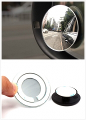 Adjustable Car 360 Degrees Small Round Blind Spot Wide-angle Lens Mirror Universal