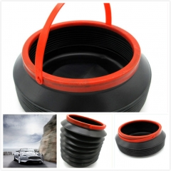 Plastic Foldable Water Container Boot Car Organizer 4L Multi - Functional Telescopic Bucket Storage