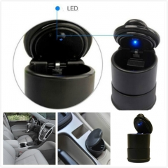 Car Cigarette Ash Holder LED Lamp Ashtray