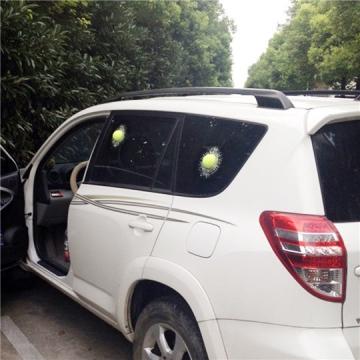 Funny 3D Car Sticker Golf/Green Tennis/ Baseball Hit Window