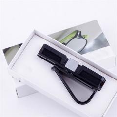 Auto Fastener Clip  ABS Car Vehicle Sun Visor Sunglasses Eyeglasses Glasses Ticket Holder Clip